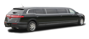 back of lincoln mkt limo